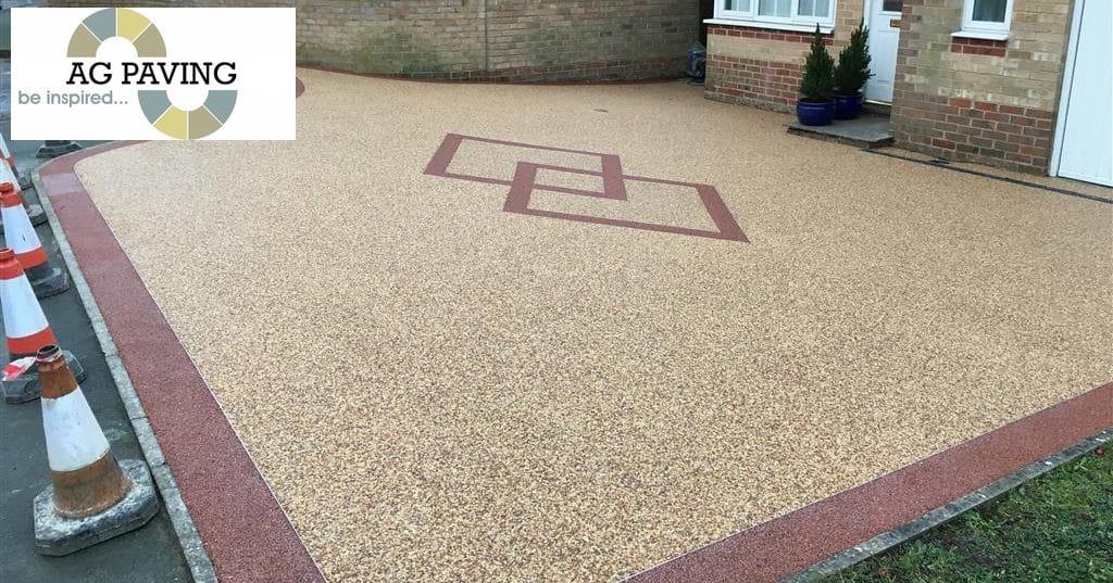 Beautiful resin bonded driveways Northampton