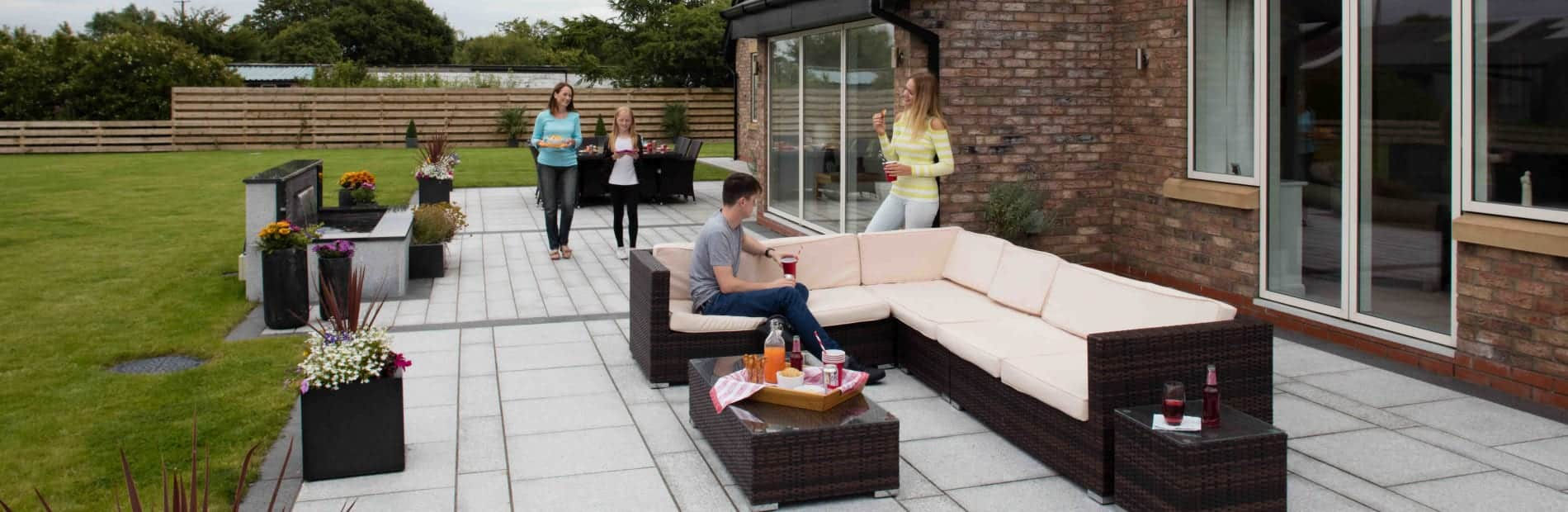 bold stone patio